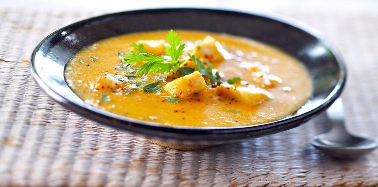 Soupe de poisson créole