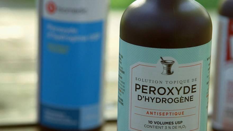 peroxyde hydrogene