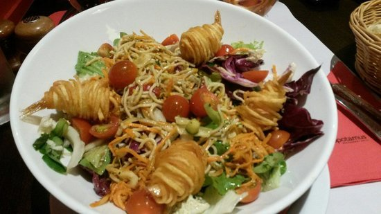 salade-thai diner amoureux maison