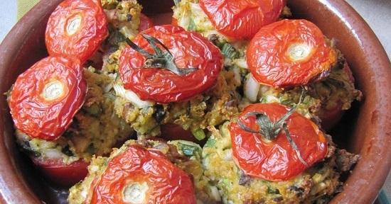 tomates farcies chevres