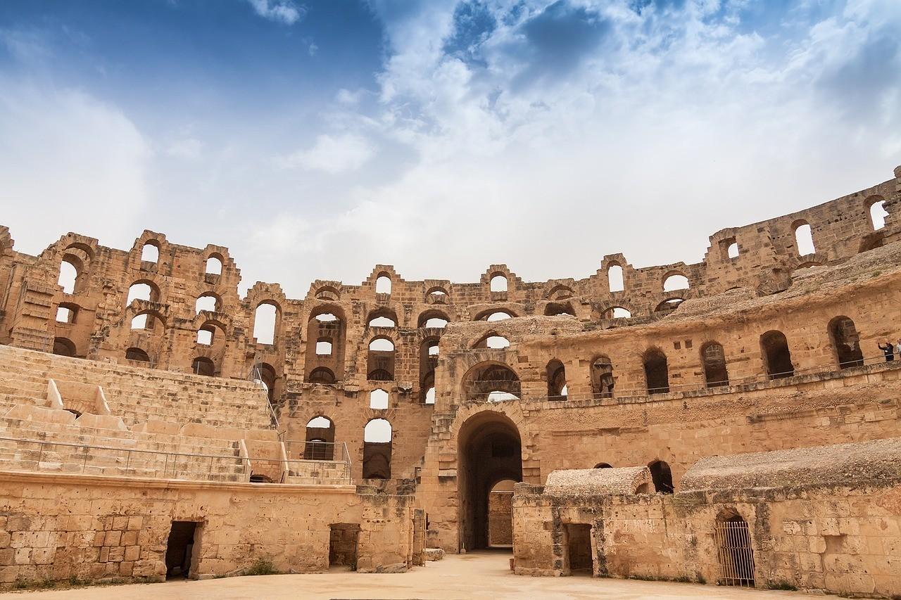 L'amphithéâtre El Jem