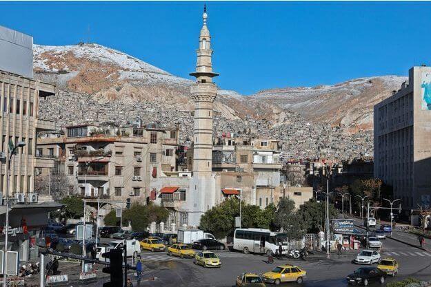 Damas en Syrie