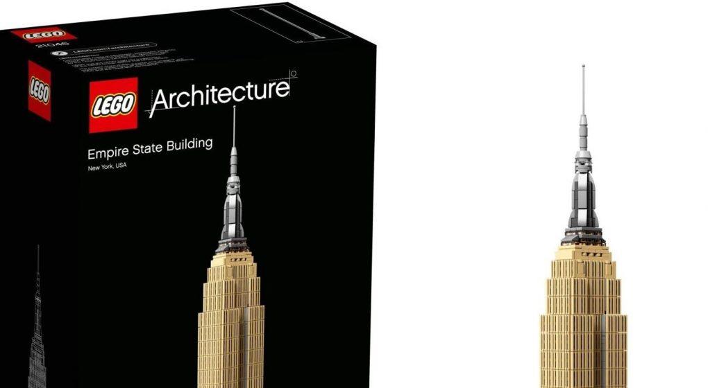 Lego architecture à construire